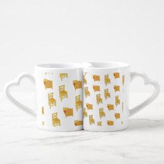 Van Gogh Illustration Lovers Mug Set