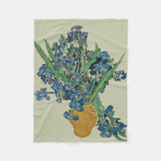 Van Gogh Iris Fleece Blanket
