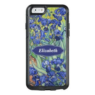 Van Gogh Irises Floral Personalized Monogr OtterBox iPhone 6/6s Case