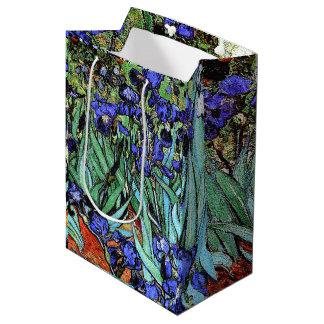 Van Gogh Irises Flowers Floral Garden Gift Bag