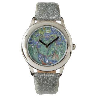 Van Gogh Irises Flowers Peace Love Nature Destiny Watch