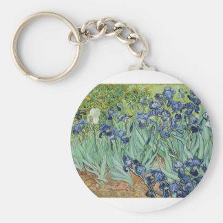 Van Gogh Irises Keychain