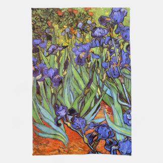 Van Gogh: Irises Kitchen Towel