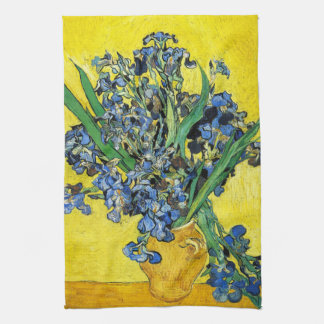 Van Gogh Irises Kitchen Towel