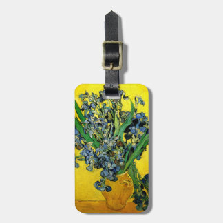 Van Gogh: Irises Luggage Tag