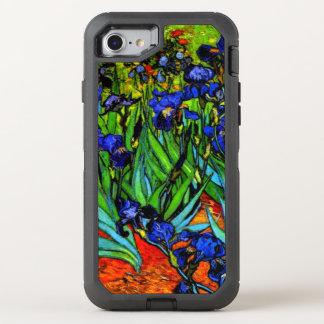 Van Gogh - Irises OtterBox Defender iPhone 8/7 Case