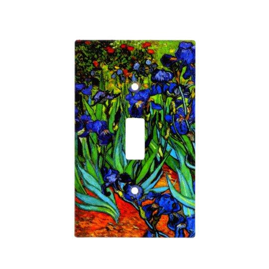 Van Gogh - Irises, Vincent Van Gogh painting Light Switch Cover