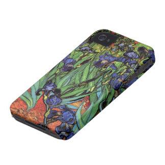 Van Gogh Irises, Vintage Garden Fine Art Case-Mate iPhone 4 Cases