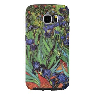 Van Gogh Irises, Vintage Garden Fine Art Samsung Galaxy S6 Cases