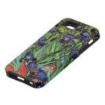 Van Gogh Irises, Vintage Post Impressionism Art iPhone 5 Covers