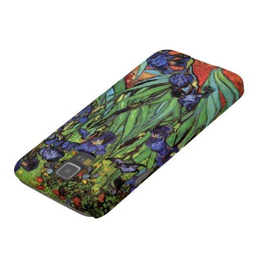 Van Gogh Irises, Vintage Post Impressionism Art Samsung Galaxy Nexus Cover