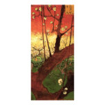 Van Gogh Japanese Flowering Plum Tree, Vintage Art Full Colour Rack Card