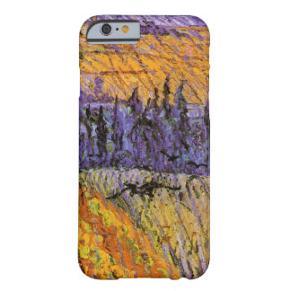 Van Gogh Landscape at Auvers in Rain, Fine Art Barely There iPhone 6 Case