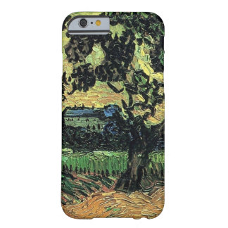 Van Gogh Landscape w Chateau of Auvers at Sunset Barely There iPhone 6 Case