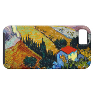 Van Gogh Landscape with House and Ploughman iPhone 5 Case