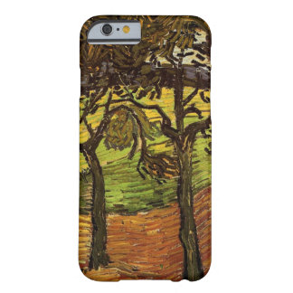 Van Gogh Landscape with Trees, Vintage Fine Art Barely There iPhone 6 Case