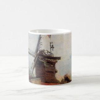 Van Gogh Le Moulin de Blute Fin, Vintage Windmill Coffee Mug