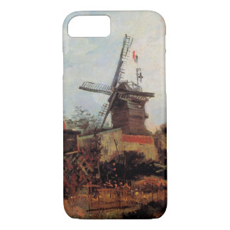 Van Gogh Le Moulin de Blute Fin, Vintage Windmill iPhone 7 Case