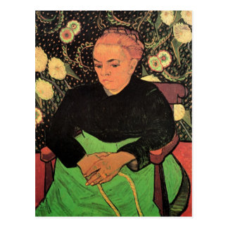 Van Gogh; Madame Roulin Rocking the Cradle Postcard