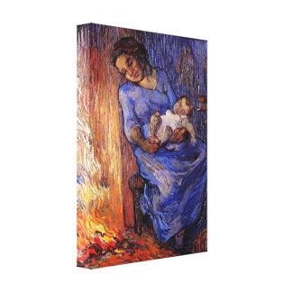 Van Gogh, Man is at Sea, Vintage Impressionism Art Canvas Print