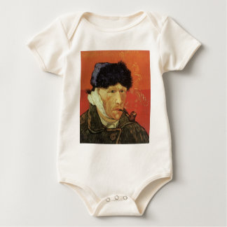 Van Gogh - Man With Pipe Baby Bodysuit
