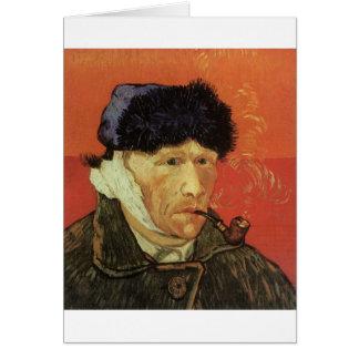 Van Gogh - Man With Pipe Card