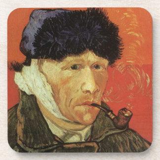 Van Gogh - Man With Pipe Coasters