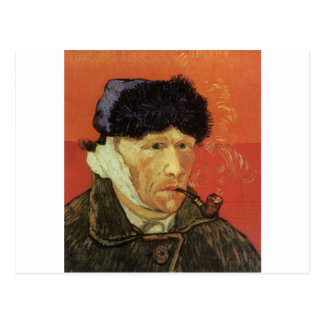 Van Gogh - Man With Pipe Postcard