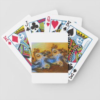 Van Gogh Mandelbrot Fractal Bicycle Playing Cards