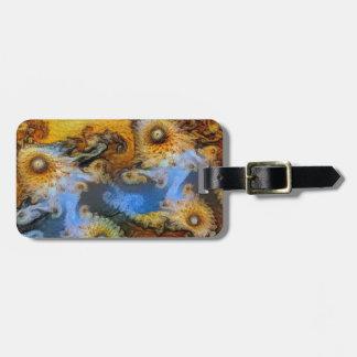 Van Gogh Mandelbrot Fractal Luggage Tag