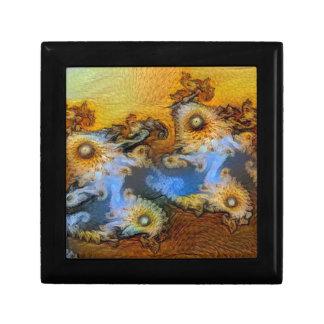 Van Gogh Mandelbrot Fractal Trinket Box