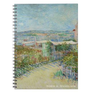 Van Gogh Montmartre Personalized Notebook