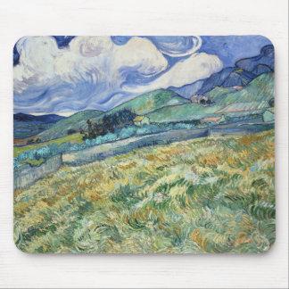 Van Gogh Mountainous Landscape Mouse Pad