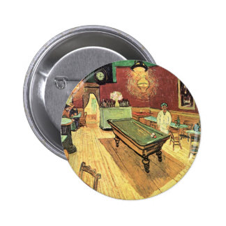 Van Gogh; Night Cafe in the Place Lamartine, Arles 2 Inch Round Button