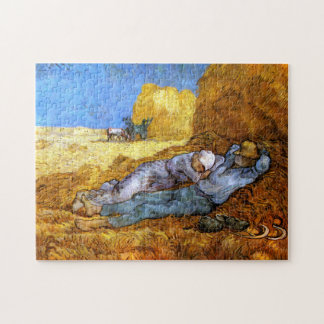 Van Gogh: Noon Rest from Work Jigsaw Puzzle