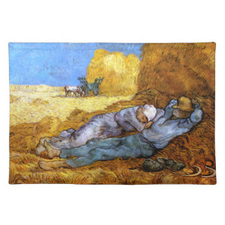 Van Gogh: Noon Rest from Work Placemat