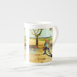 Van Gogh: Painter on His Way to Work Tea Cup