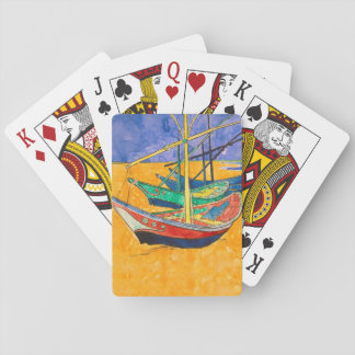 Van Gogh Painting Famous Boats Poker Deck