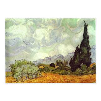 "Van Gogh Painting 5"" X 7"" Invitation Card"