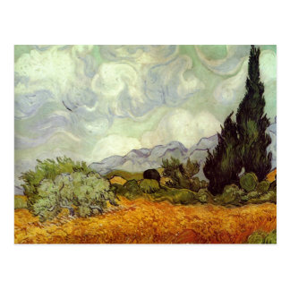 Van Gogh Painting Postcard