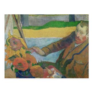 Van Gogh painting Sunflowers, 1888 Postcard