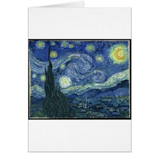 Van Gogh Paintings: Starry Night Van Gogh Greeting Card