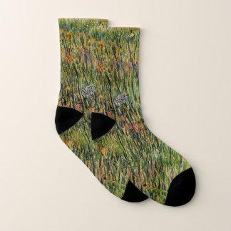 Van Gogh Pasture in Bloom, Vintage Nature Fine Art 1