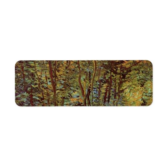 Van Gogh Path in the Woods, Vintage Fine Art