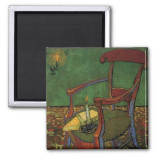 Van Gogh Paul Gauguin's Armchair, Vintage Art Magnet