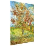 Van Gogh Pink Peach Tree in Blossom, Fine Art Canvas Prints