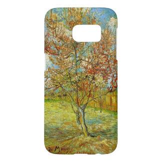 Van Gogh Pink Peach Tree in Blossom, Fine Art Samsung Galaxy S7 Case