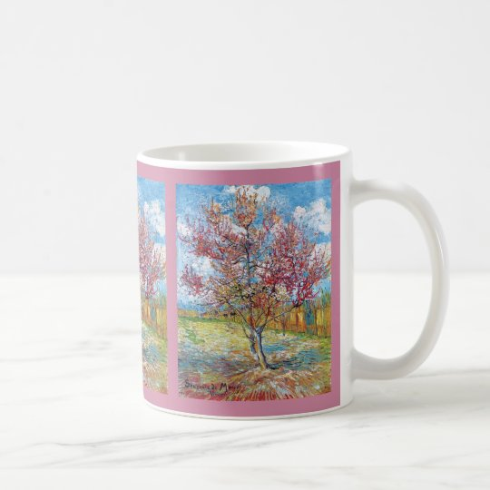 Van Gogh - Pink Peach Trees Coffee Mug