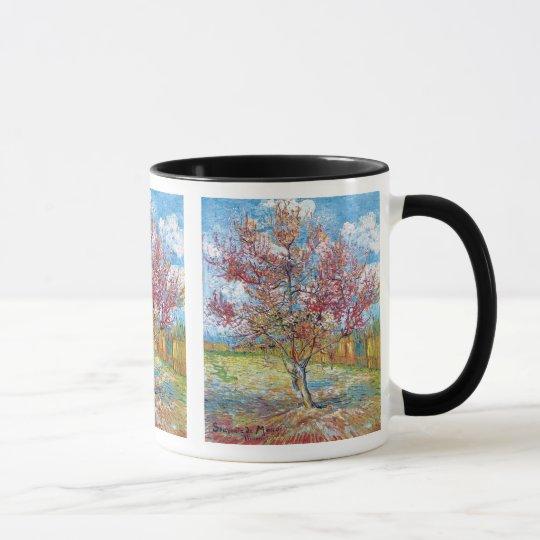 Van Gogh - Pink Peach Trees Mug
