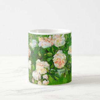 Van Gogh Pink Roses Mug
